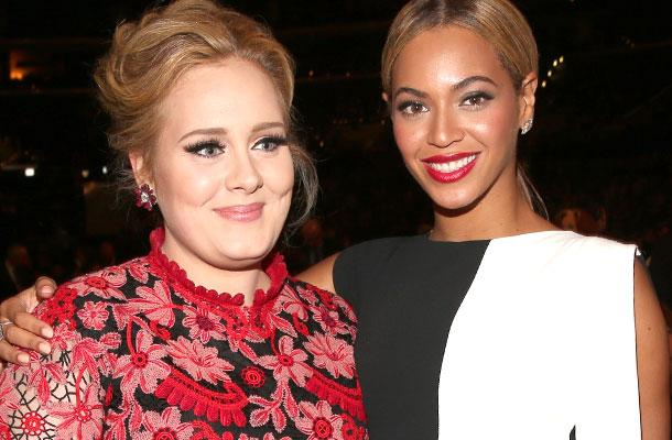 //beyonce adele record duet grammy pp