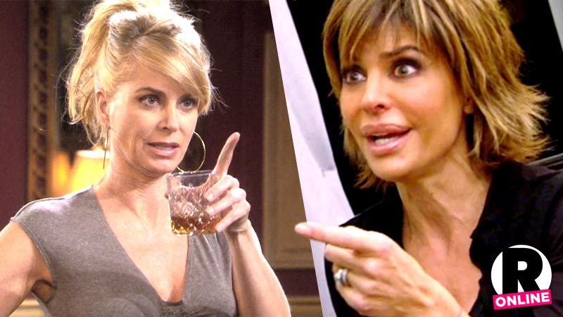 //eileen davidson lisa rinna real housewives of beverly hills bravo feud catfight drama pp sl