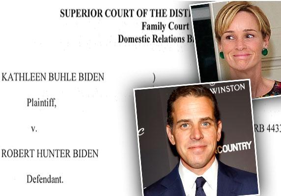 //hunter biden kathleen biden divorce private truce mediation documents pp