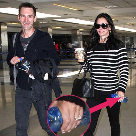 //johnny mcdaid courteney cox engagement ring