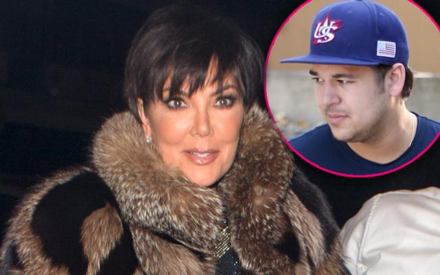 Kris Jenner Encouraged Quit Keeping Up The Kardashians Help Troubled Son Rob