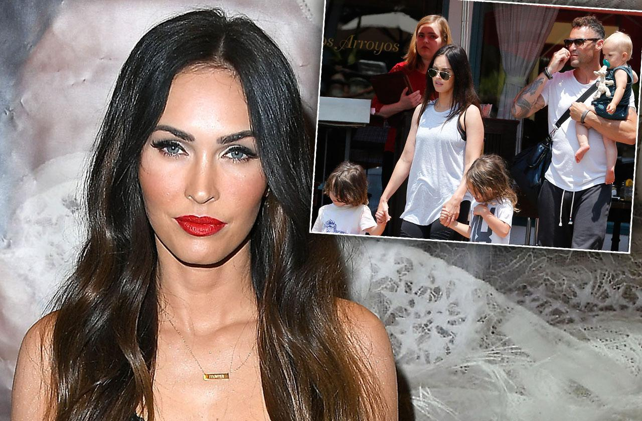 //Reason Megan Fox Doesnt Travel With Kids pp
