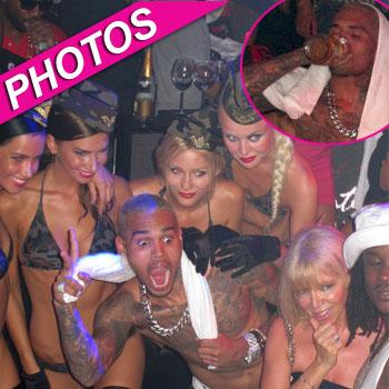 //chris brown cannes sn