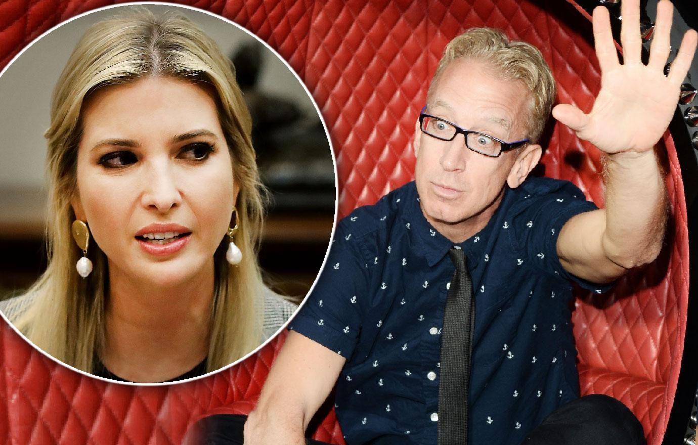 Andy Dick Once Groped Ivanka Trump On TV See Video