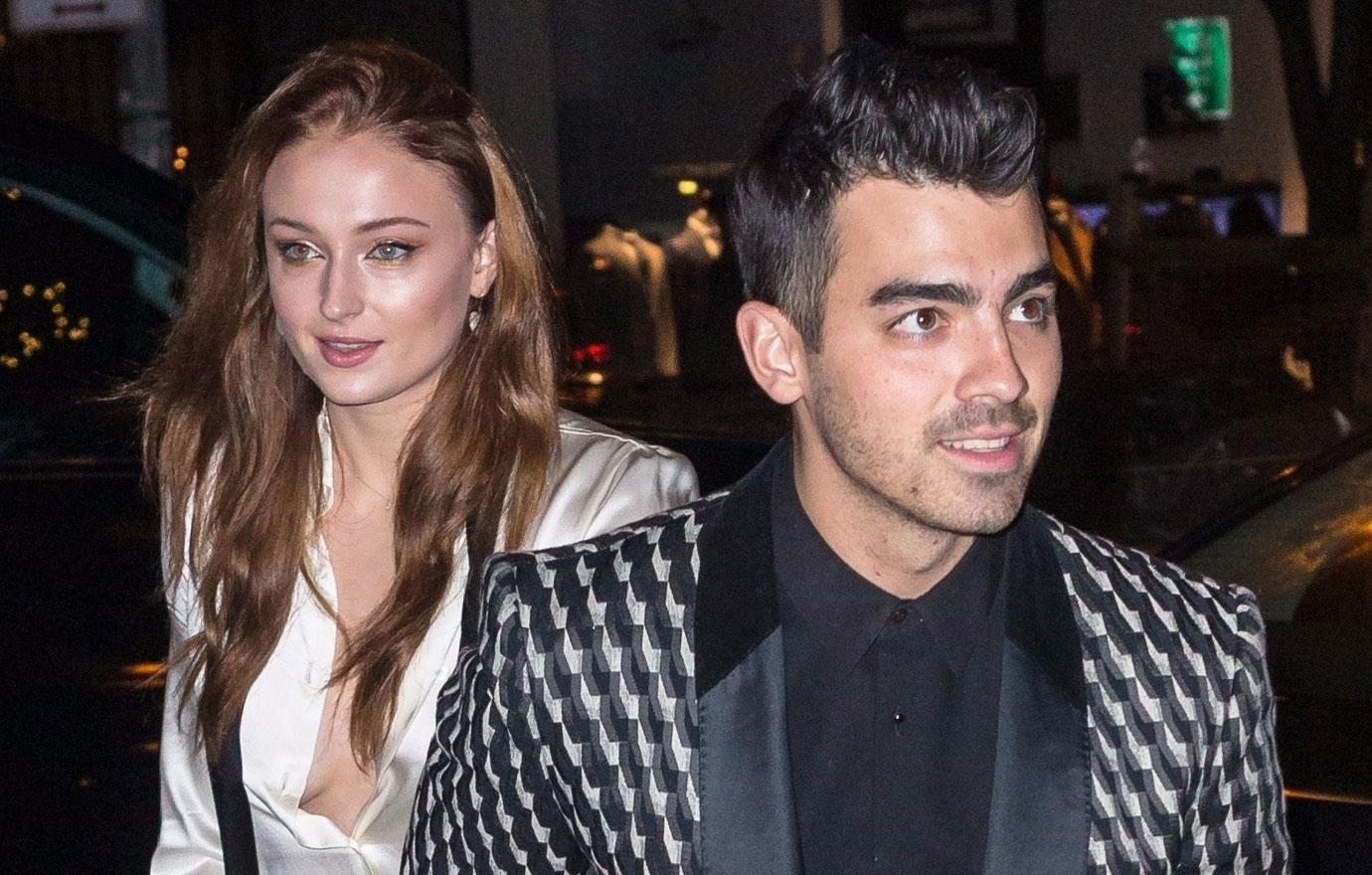 //joe jonas and sophie turner have wild engagement party pp