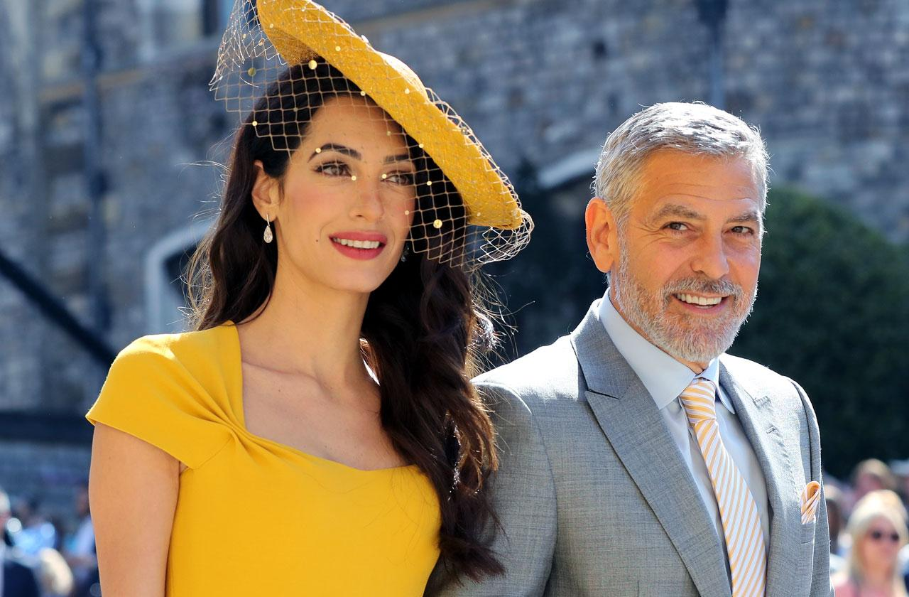 //amal george clooney sell motorbike accident pp
