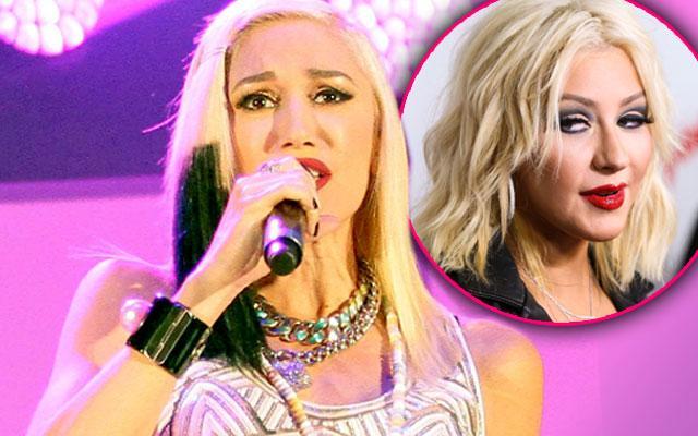 Gwen Stefani Christina Aguilera Voice Feud