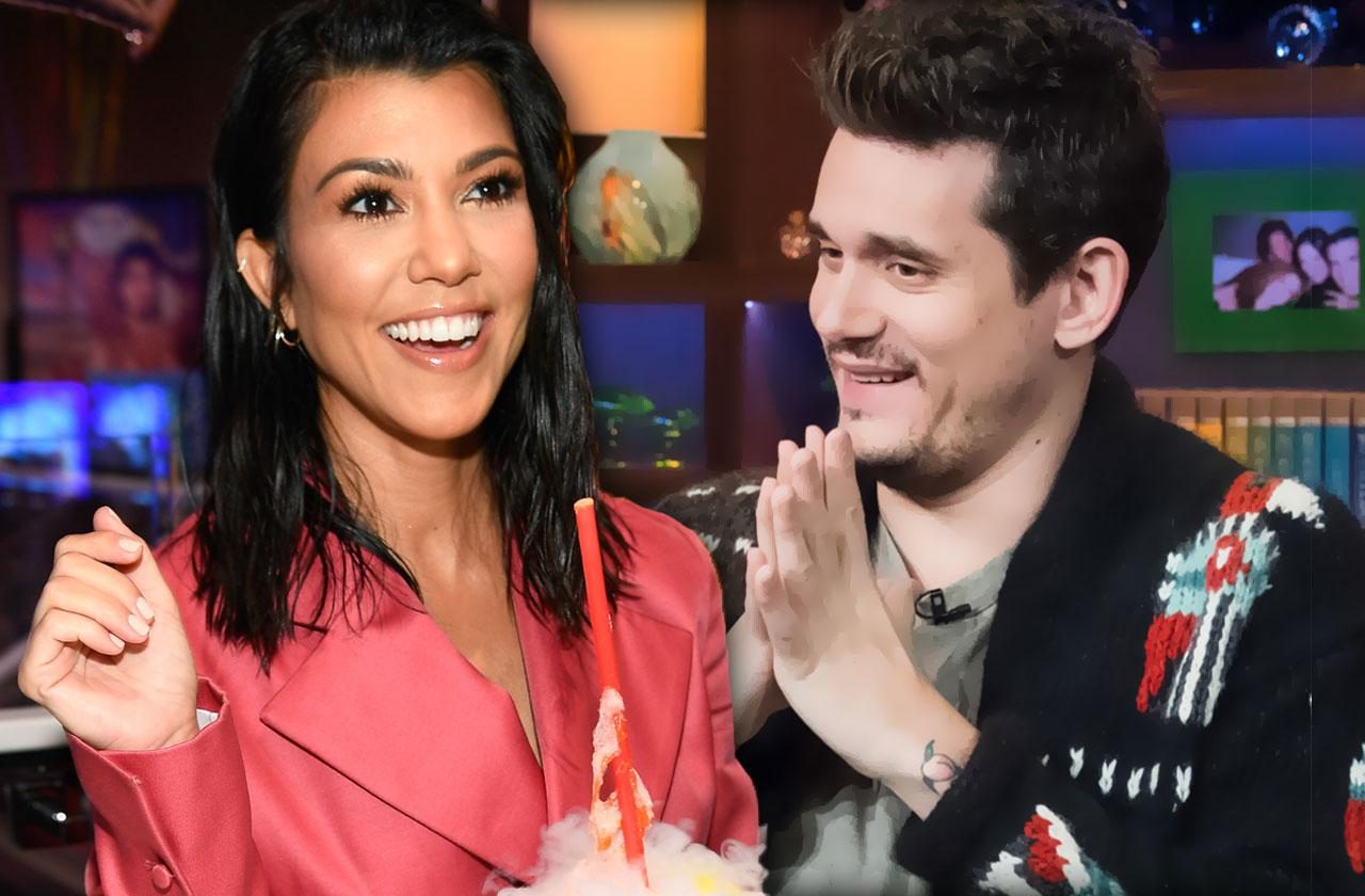 Kourtney Kardashian Caught Flirting With John Mayer