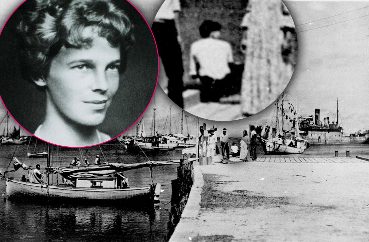 //amelia earhart photo survived flight crash pp