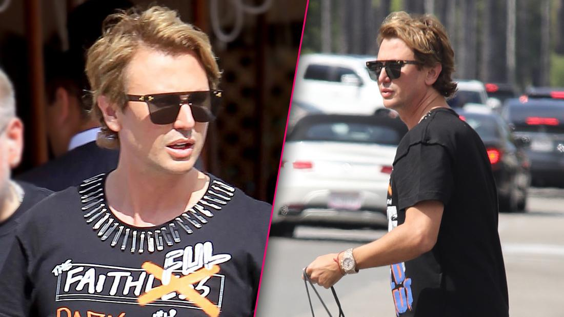 Foodgod Jonathan Cheban Blinged Out In Beverly Hills