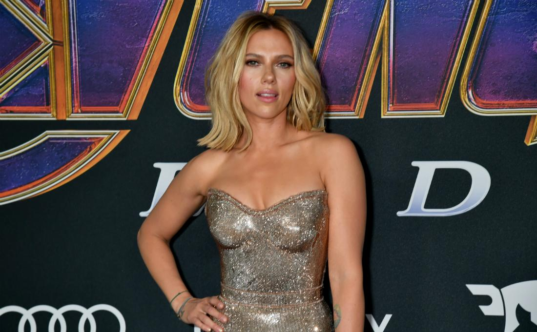 "Scarlett Johansson attended the World Premiere of Walt Disney Studios Motion Pictures ""Avengers: Endgame"" at Los Angeles Convention Center on April 22, 2019 in Los Angeles, California"