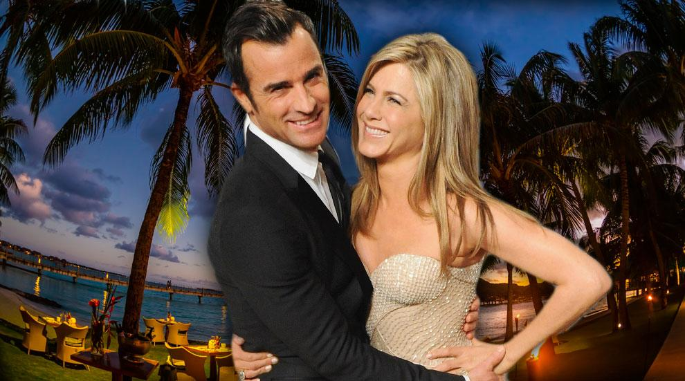 Jennifer Aniston Honeymoon