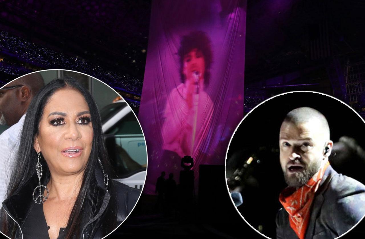 //Sheila E Prince hologram Justin Timberlake pp