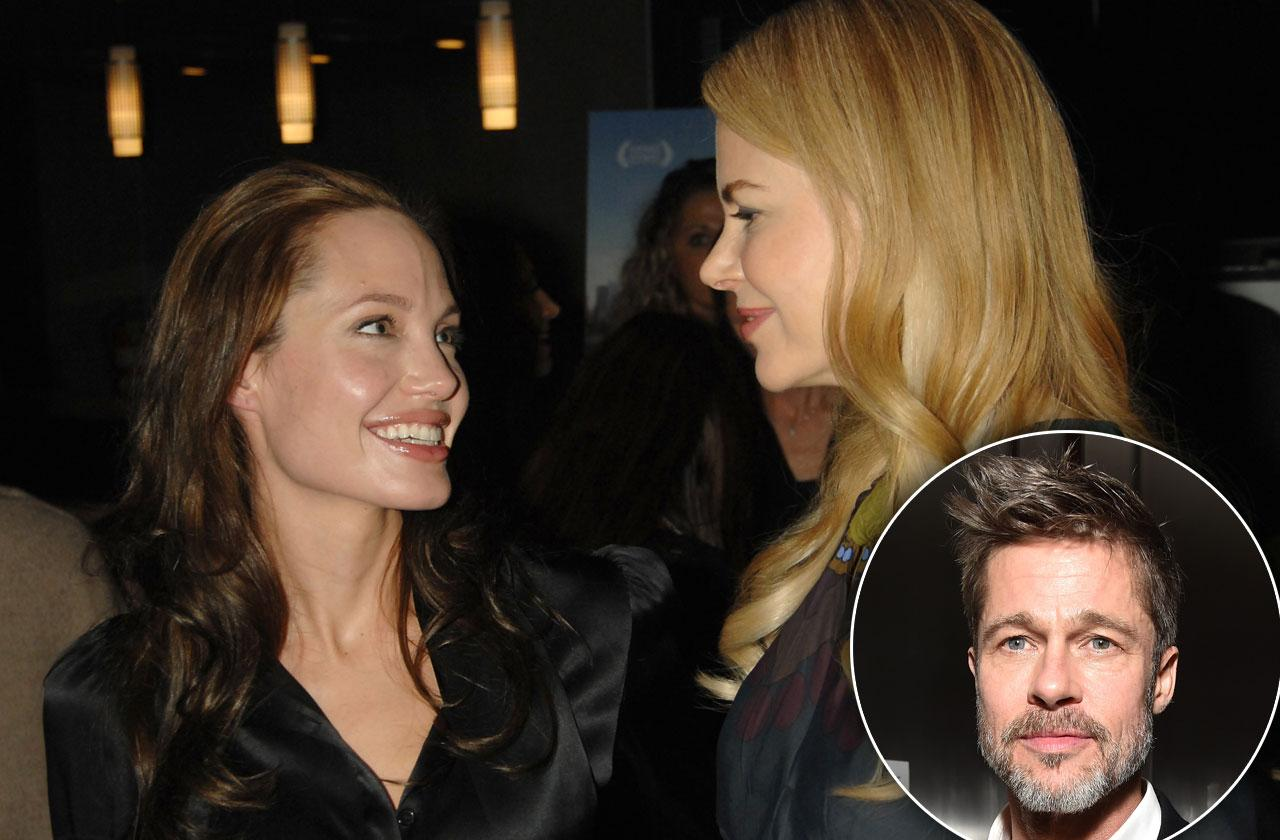 Angelina Jolie Gets Support From Nicole Kidman During Messy Divorce With Brad Pitt