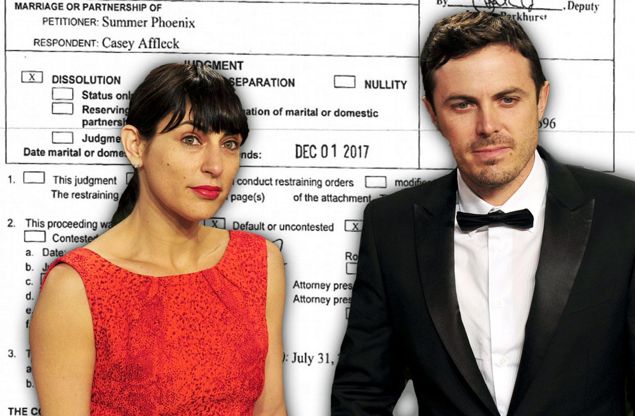 //casey affleck divorce documents reveal shocking income pp