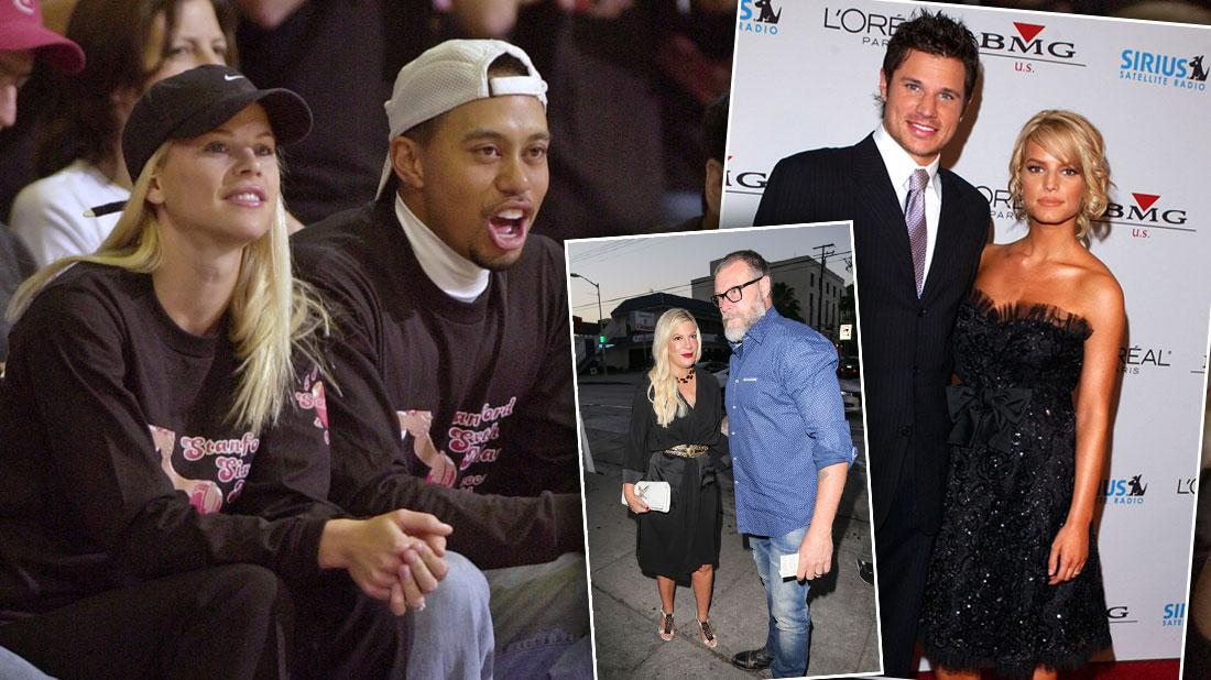 Jessica & Nick, Tiger & Elin, And More Of The Holiday's Biggest Battles