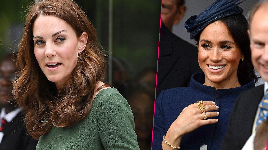 Meghan Markle Wears More Jewelry Than Kate Middleton