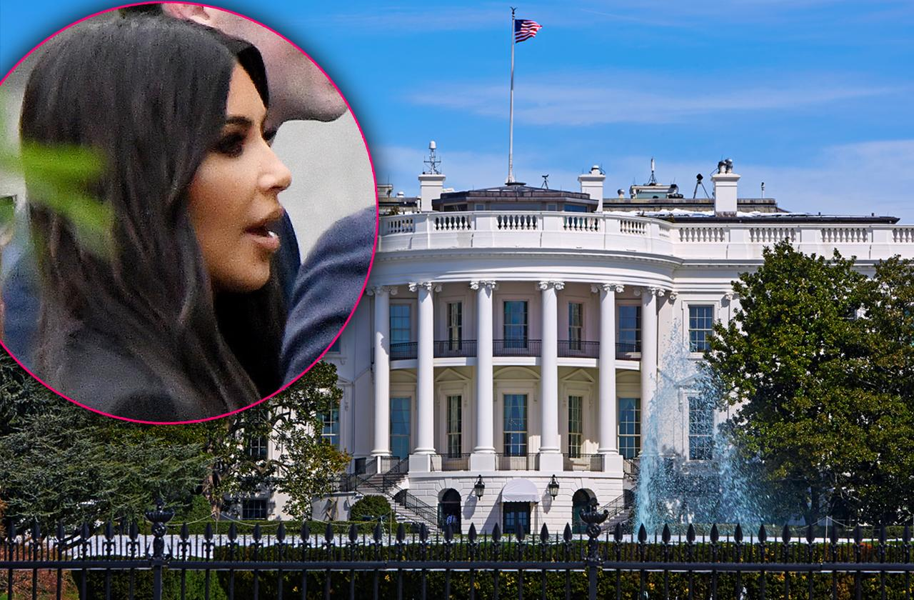 //kim kardashian white house donald trump pp