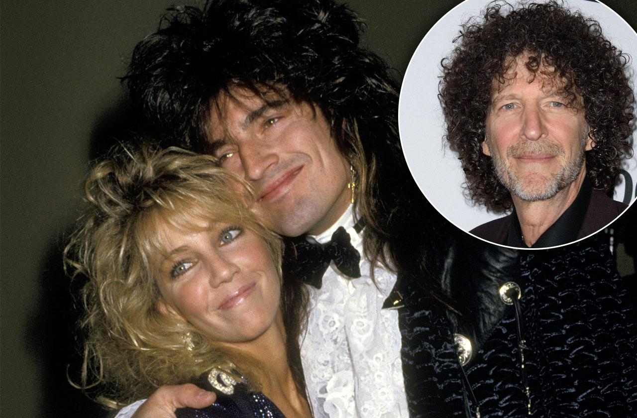 Howard Claims Tommy Lee & Richie Sambora Made Pal Heather Locklear Go 'Crazy'
