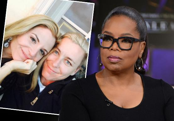 oprah winfrey friend leaves husband lesbian romance abby wambach