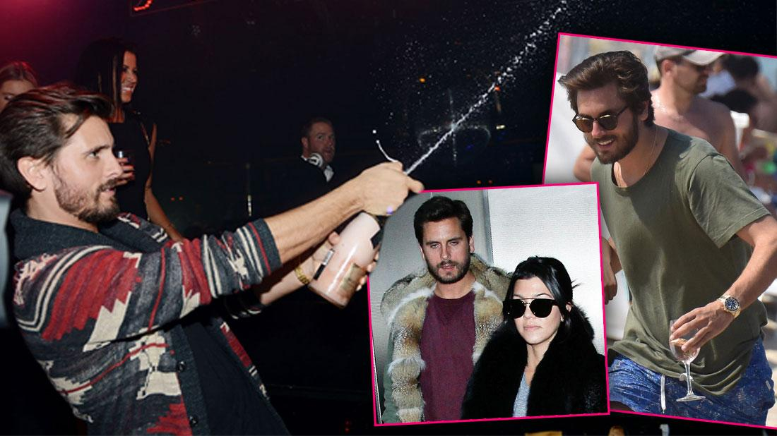Cheating, Lies, Drugs, Boozing, Rehab, Hospitals! Scott Disick's Biggest Scandals