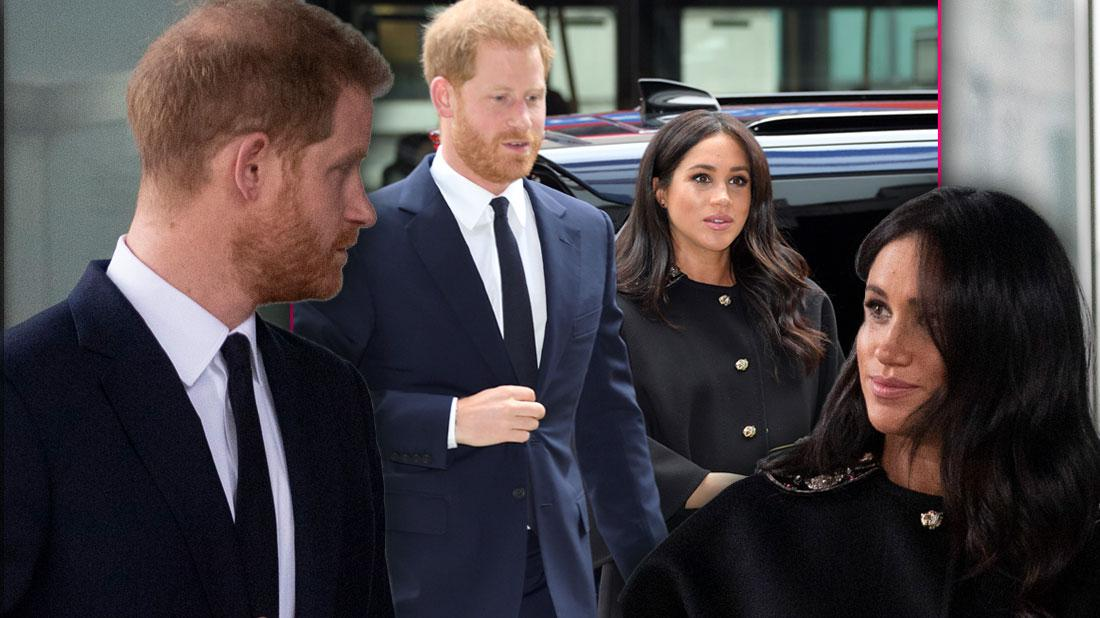 Meghan & Harry Under 'Massive Security' Leading Up To Their First Child's Birth