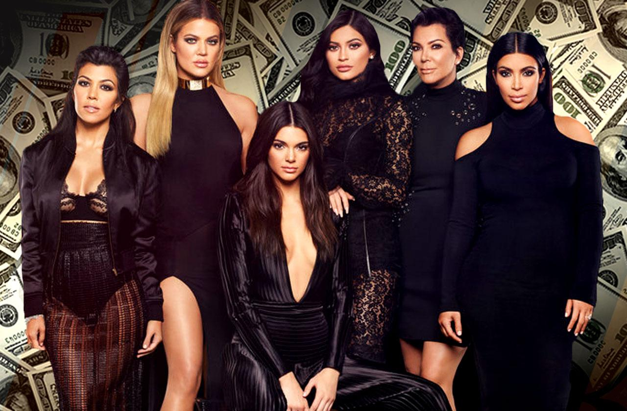 //kardashians million dollar tv deal pp