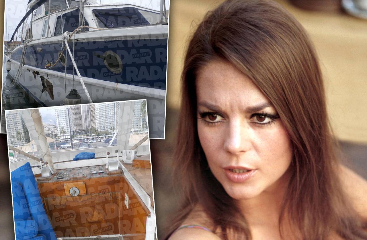 natalie wood death boat ransacked photos