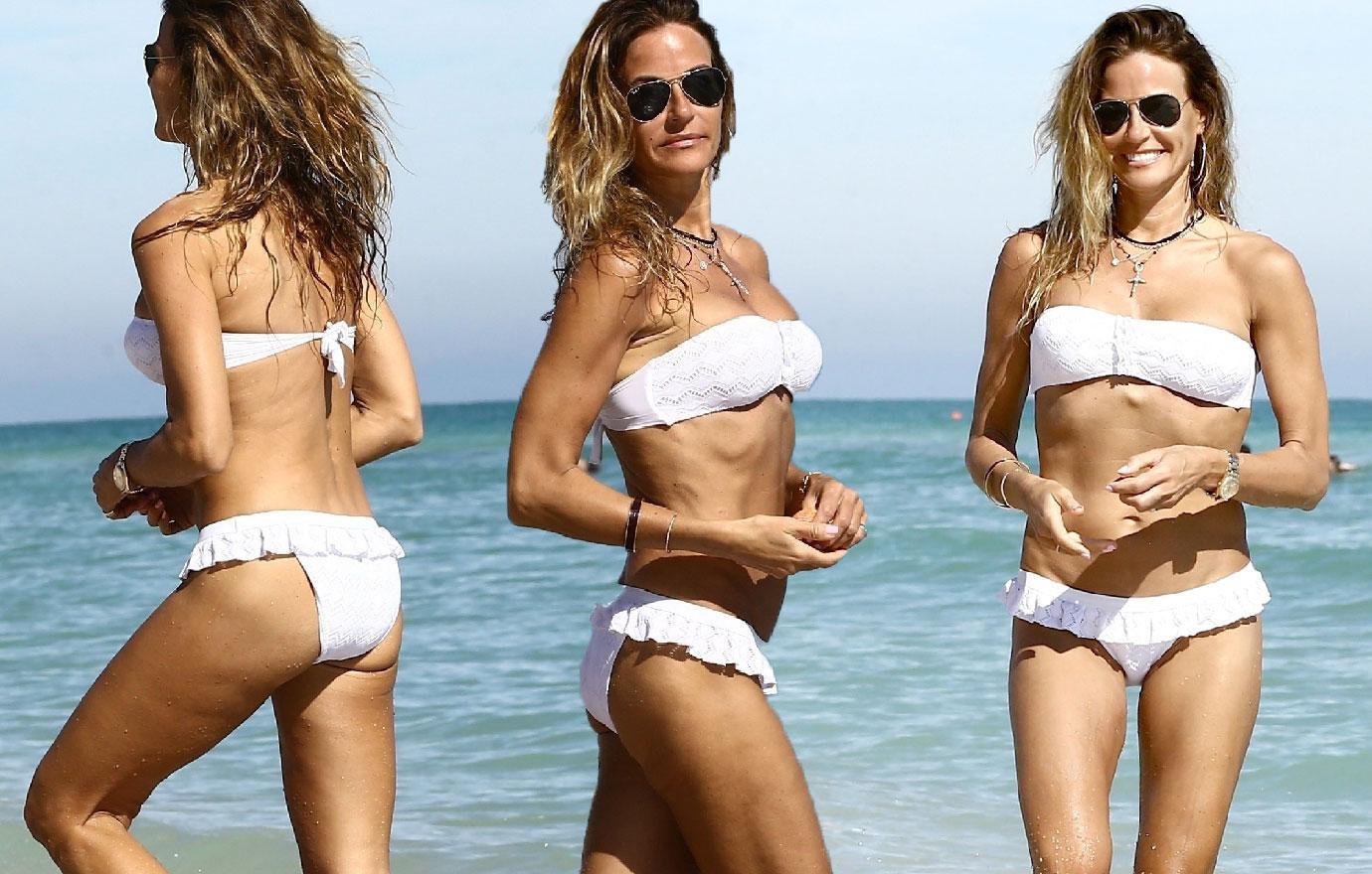 Kelly Bensimon Flaunts Amazing Beach Body
