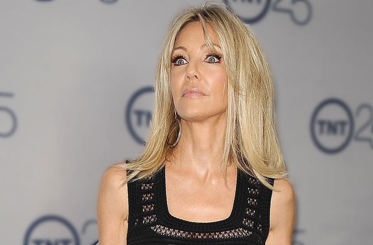 Heather Locklear Hospitalized Car Crash