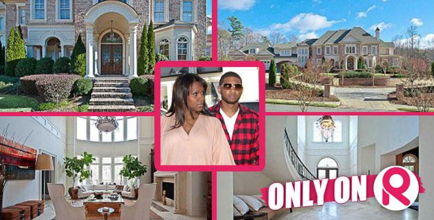 Usher Raymond and wife Tameka Foster sell house