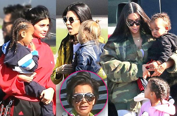 //Kylie Jenner Tyga Son Khloe Kardashian Family Private Plane Costa Rica  pp
