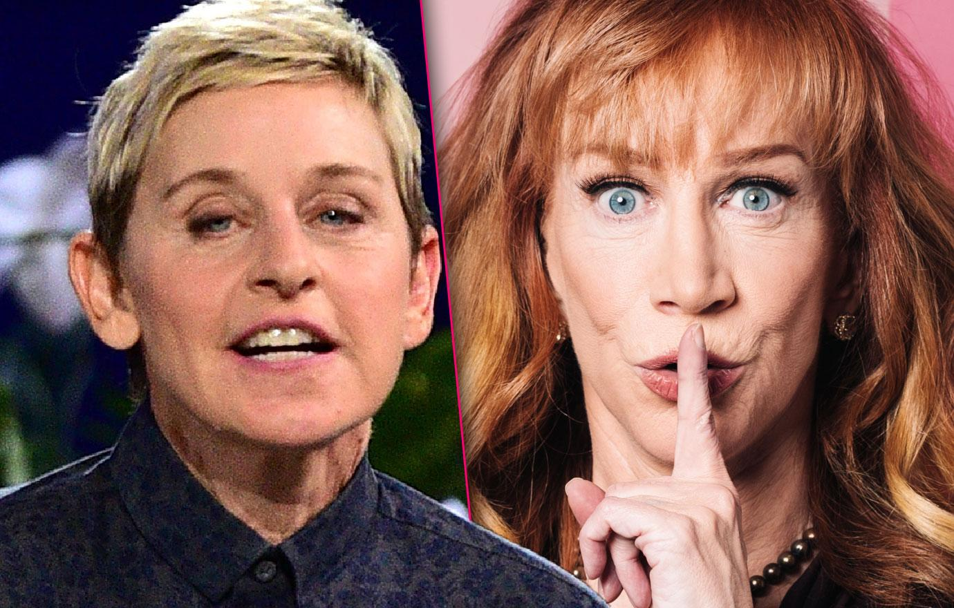 Kathy Griffin Says Ellen DeGeneres Can't Stand Me Feud