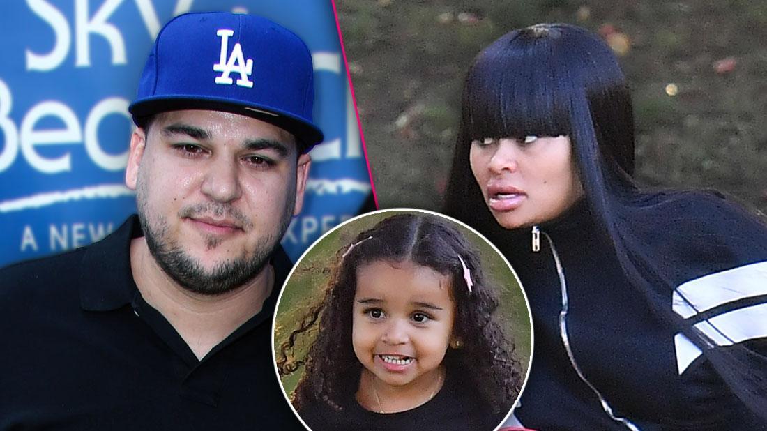 Rob Kardashian Requests To Change Custody Agreement Of Dream