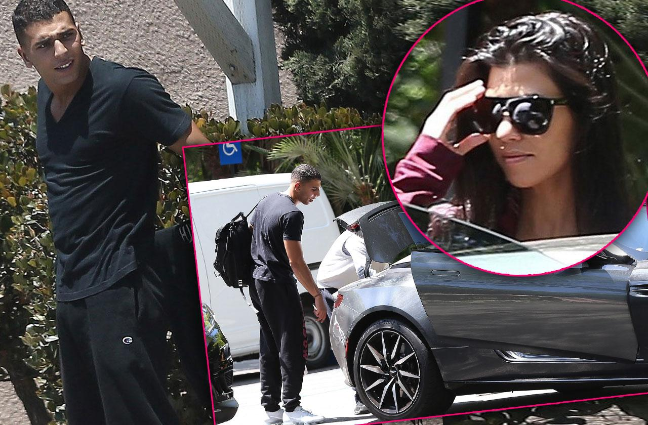Kourtney Kardashian New Boyfriend Younes Bendjima Hotel Pics