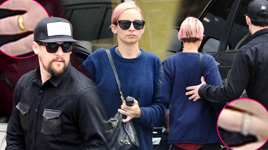 Nicole Richie Joel Madden Divorce Rumors Furniture Shopping Sherman Oaks