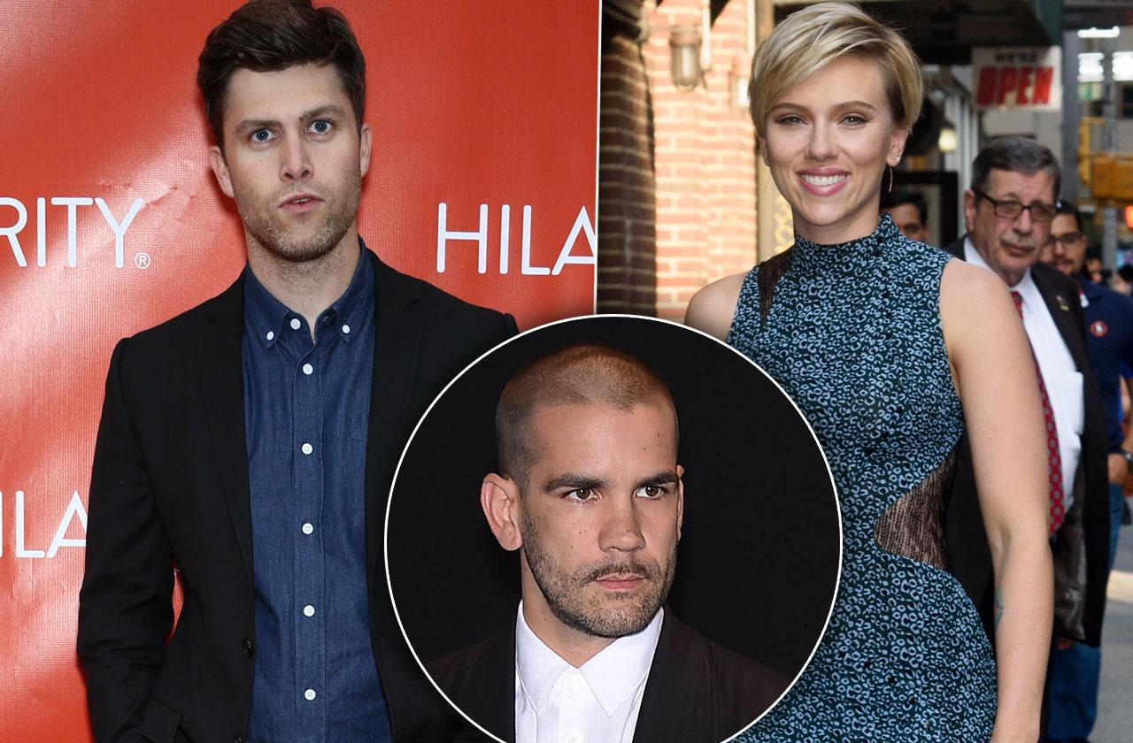 Scarlett Johansson New Boyfriend Colin Jost Moves In