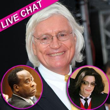 //conrad murray michael jackson tom mesereau live chat