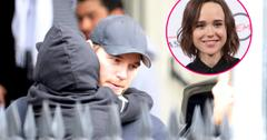 //chris pratt takes son to church after ellen page controversy pp