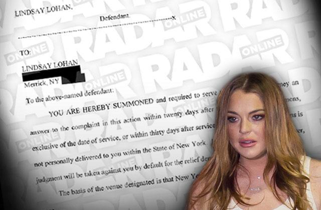 Lindsay Lohan Lawsuit Driver Unpaid Bills