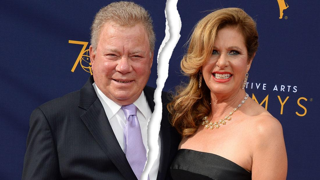 William Shatner Files For Divorce From Fourth Wife, Elizabeth