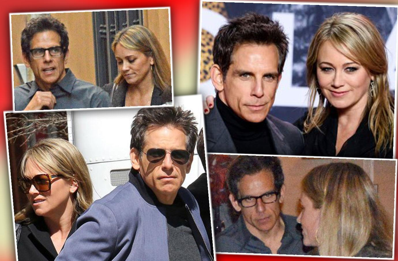 [PHOTOS] That Show Why Ben Stiller Split With Christine Taylor
