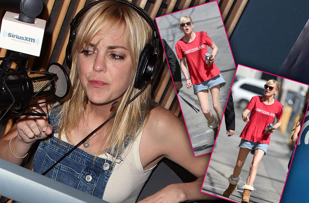 //Anna Faris Scary Skinny Bad Health Friends Worry pp