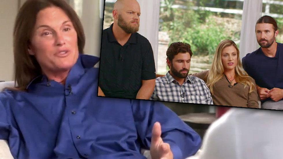 Bruce Jenner Interview Kids Parenting Outtakes