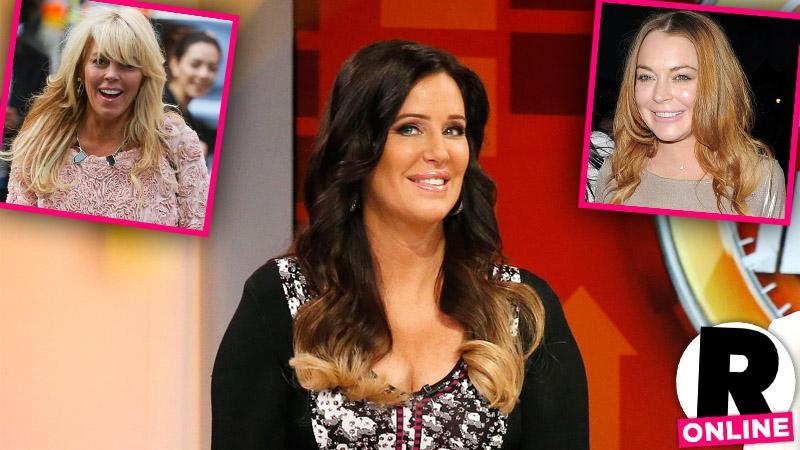 Millionaire Matchmaker Patti Stanger Lindsay Lohan Dina Lohan