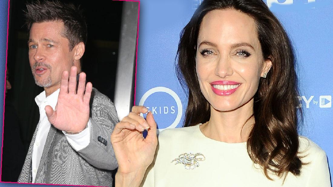 Angelina Jolie Brad Pitt Get Official Single Status Court