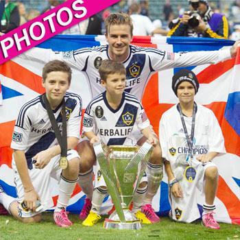 //david beckham mls cup win post