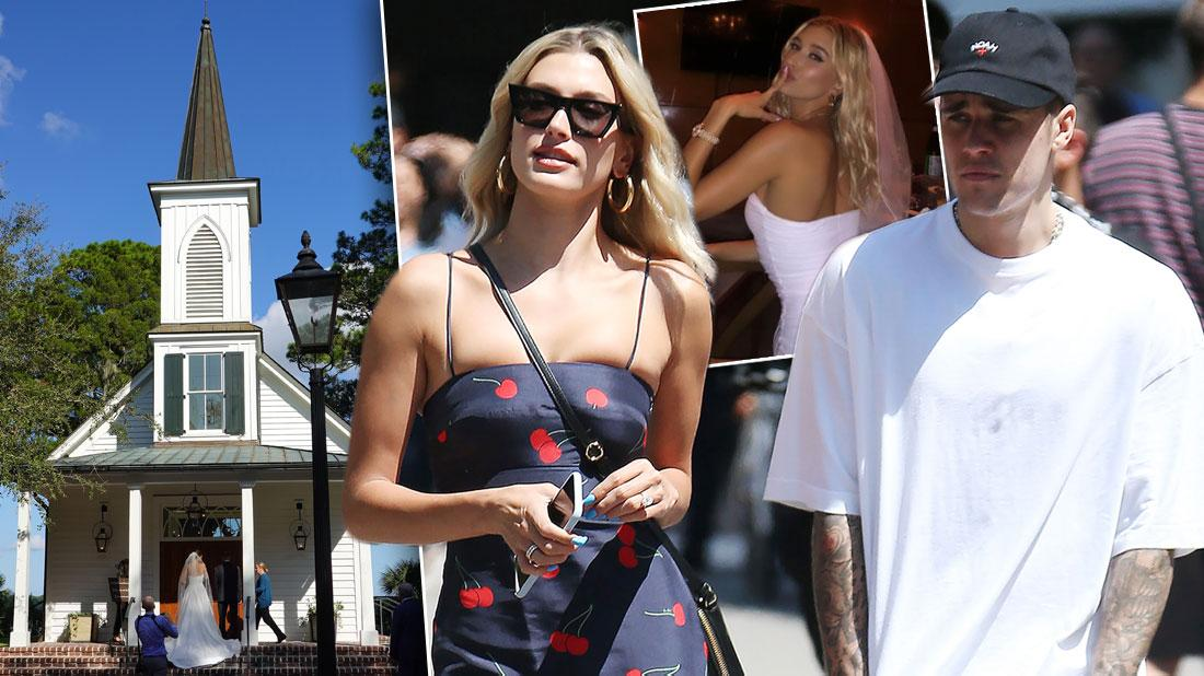 Justin Bieber and Hailey Baldwin Dressed Formally Looking Unhappy Having Second Wedding After Marriage Troubles