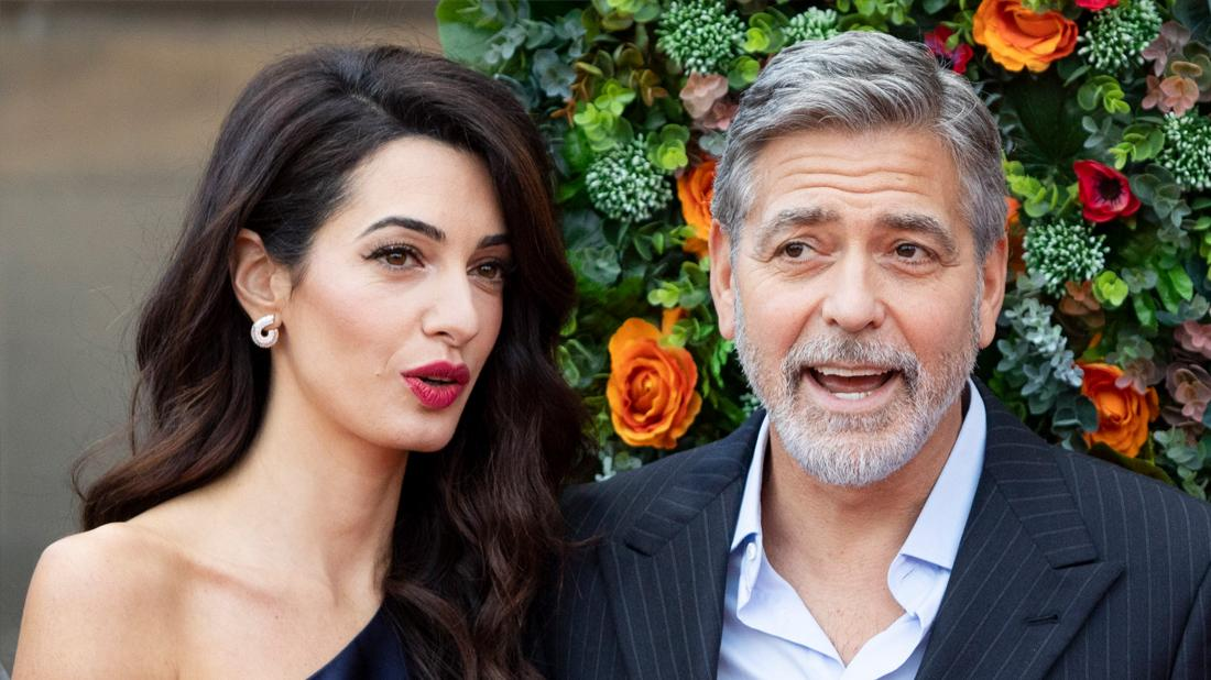 George Clooney's Sister-In-Law Tala Sentenced To Jail For Drunk Driving Amal Looking Upset