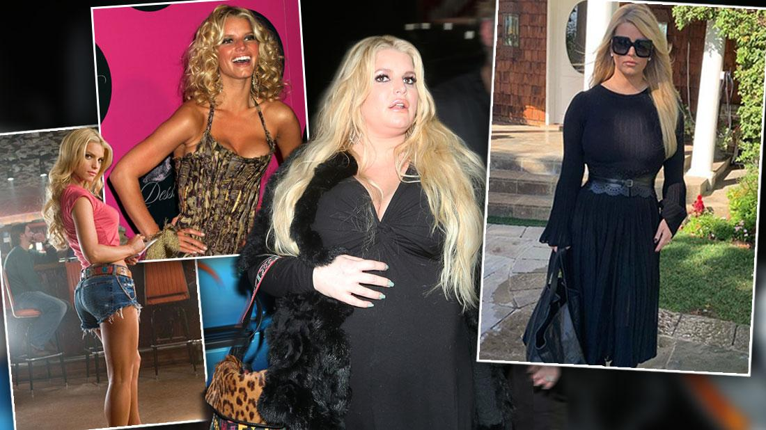 Jessica Simpson's Extreme Weight Ups & Downs Through The Years